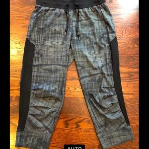 Perfect light weight mesh joggers